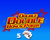 Double Double Bonus Poker 5 Hand