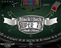 Blackjack Super 7`s Multihand